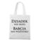 Kobiety wiedza lepiej torba z nadrukiem dla babci gadzety werprint 998 161