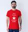 Najpierw kawa klient poczeka koszulka z nadrukiem praca mezczyzna werprint 1018 54