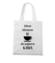 Najpierw kawa klient poczeka torba z nadrukiem praca gadzety werprint 1017 161