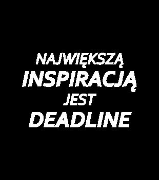 Deadline powrot inspiracji grafika na koszulke meska 1020