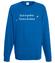 Zycie to wieczna podroz bluza z nadrukiem praca mezczyzna werprint 1028 109