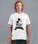 Uciekajac od obowiazkow koszulka z nadrukiem praca mezczyzna werprint 1029 40
