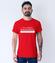 Pracuj bez pospiechu koszulka z nadrukiem praca mezczyzna werprint 1038 54