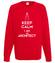Keep calm i am architect bluza z nadrukiem praca mezczyzna werprint 1042 108