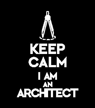 Keep calm i am architect grafika na koszulke damska 1042