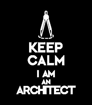 Keep calm i am architect grafika na bluze damska 1042