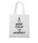 Keep calm i am architect torba z nadrukiem praca gadzety werprint 1041 161