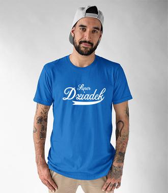 Super dziadek - Koszulka z nadrukiem - Dla Dziadka - Męska