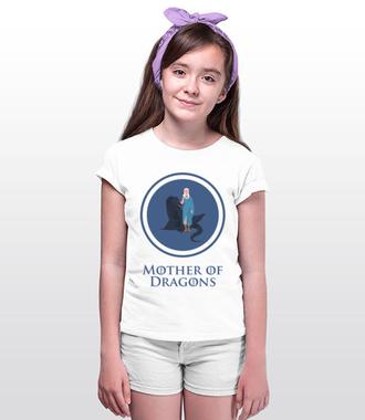 Smocza rodzicielka - Koszulka z nadrukiem - Filmy i seriale - Dziecięca