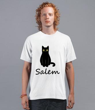 Salem. Kot z magią. - Koszulka z nadrukiem - Filmy i seriale - Męska