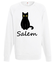 Salem kot z magia bluza z nadrukiem filmy i seriale mezczyzna werprint 1061 106