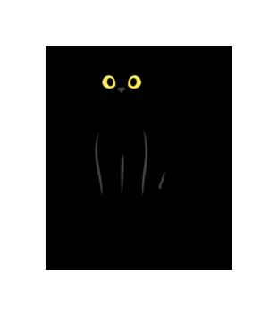 Salem kot z magia grafika na koszulke dziecieca 1061