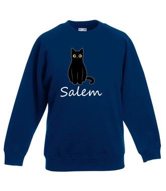 Salem. Kot z magią. - Bluza z nadrukiem - Filmy i seriale - Dziecięca