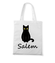 Salem kot z magia torba z nadrukiem filmy i seriale gadzety werprint 1061 161