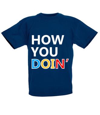 How you doin? - Koszulka z nadrukiem - Filmy i seriale - Dziecięca