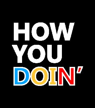 How you doin grafika na bluze dziecieca 1064