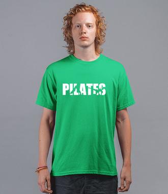 Pilates. Mój sport. - Koszulka z nadrukiem - Sport - Męska