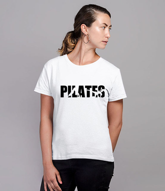Pilates. Mój sport. - Koszulka z nadrukiem - Sport - Damska