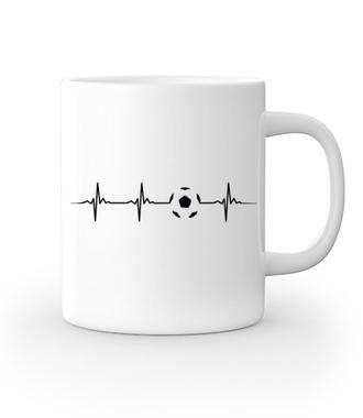 W żyłach piłkarska płynie krew - Kubek z nadrukiem - Sport - Gadżety