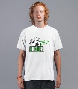 Doskonały strzał - Koszulka z nadrukiem - Sport - Męska