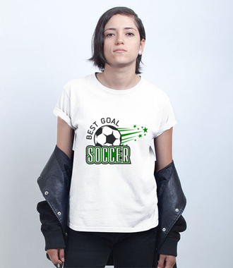 Doskonały strzał - Koszulka z nadrukiem - Sport - Damska