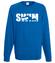 Plynac w strone sukcesu bluza z nadrukiem sport mezczyzna werprint 1078 109