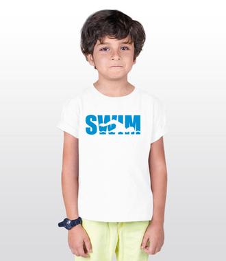 Płynąć w stronę sukcesu - Koszulka z nadrukiem - Sport - Dziecięca
