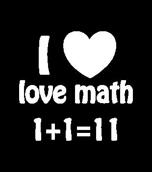 Matematyka moja miloscia grafika na bluze meska 1082