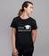 Jeste magistre koszulka z nadrukiem szkola kobieta werprint 1084 76