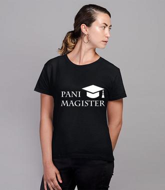 Jestę magistrę - Koszulka z nadrukiem - Szkoła - Damska