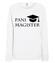 Jeste magistre bluza z nadrukiem szkola kobieta werprint 1083 114