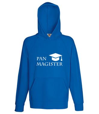 Jestę Pan Magister - Bluza z nadrukiem - Szkoła - Męska z kapturem