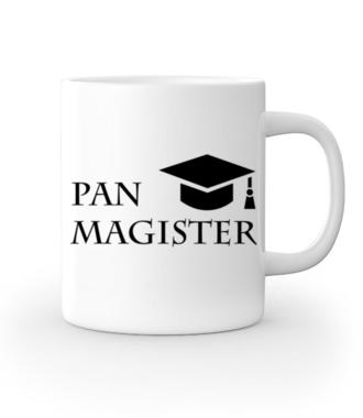 Jestę Pan Magister - Kubek z nadrukiem - Szkoła - Gadżety