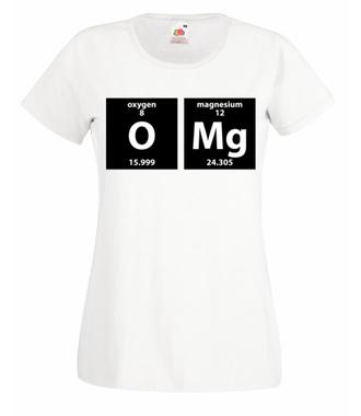 OMG!!! Koszulka idealna - Koszulka z nadrukiem - Szkoła - Damska