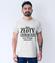 Zloty charakter koszulka z nadrukiem smieszne mezczyzna werprint 1098 53