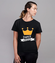 Franca niepospolita koszulka z nadrukiem smieszne kobieta werprint 1105 76