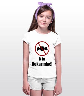 Nie dokarmiać! - Koszulka z nadrukiem - Śmieszne - Dziecięca