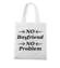 Nie ma chlopa nie ma problemu torba z nadrukiem smieszne gadzety werprint 1112 161