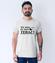 Nie mow do mnie teraz koszulka z nadrukiem smieszne mezczyzna werprint 1116 53