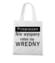 Jestem wredny bo niewyspany torba z nadrukiem smieszne gadzety werprint 1124 161