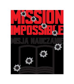 Misja nauczanie grafika na koszulke meska 1143