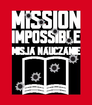 Misja nauczanie grafika na bluze meska 1145