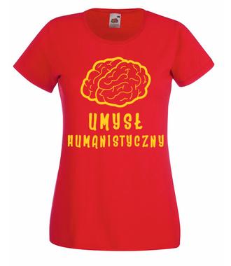 Humanista z krwi i kości - Koszulka z nadrukiem - Dzień nauczyciela - Damska