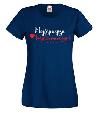 Najfajniejsze wychowawczyni - Koszulka z nadrukiem - Dzień nauczyciela - Damska
