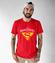 Super belfrem jestem ja koszulka z nadrukiem dzien nauczyciela mezczyzna werprint 1210 48