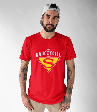 Super belfrem jestem ja - Koszulka z nadrukiem - Dzień nauczyciela - Męska