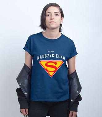 Jestem super i w ogóle! - Koszulka z nadrukiem - Dzień nauczyciela - Damska