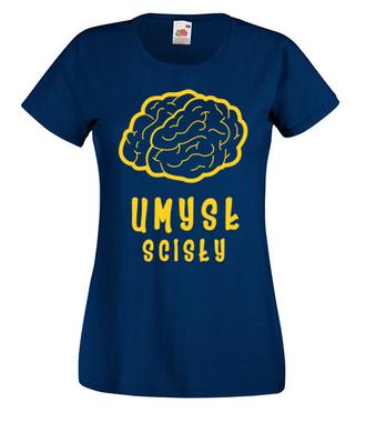Humanistą nie będę - Koszulka z nadrukiem - Dzień nauczyciela - Damska