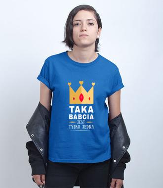 Dla wyjątkowej babci wyjątkowa koszulka z nadrukiem - Koszulka z nadrukiem - Dla Babci - Damska