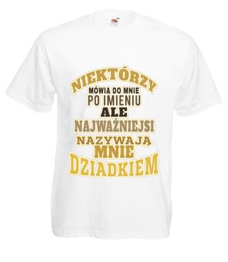Zadziorna koszulka z nadrukiem dla dziadka - Koszulka z nadrukiem - Dla Dziadka - Męska